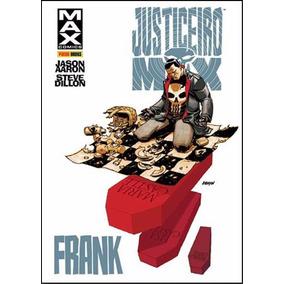 Justiceiro Max - Frank - Capa Dura Lacrado - Panini / Marvel