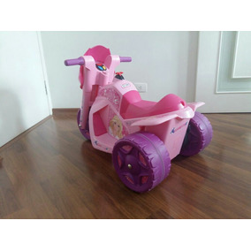 Moto Elétrica Da Barbie Semi Nova.