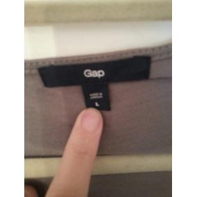 Remera Ml Gap T L C Cuello Volcado Nueva Importada