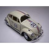 Herbie Cupido Motorizado Beetle Fusca 1/18 Metal