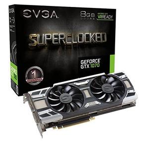 Evga Geforce Gtx 1070 Sc Jogos Acx 3.0, 8gb Gddr5, Diodo Emi