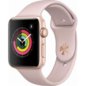 Apple Watch Series 3 (gps), 42mm Gold Aluminum Case Sportban