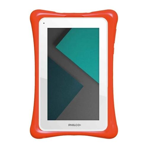 """Tablet  con funda Philco TP7A4 7"""" 8GB blanca con memoria RAM 1GB"""