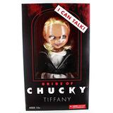 Mezco Novia De Chucky Tiffany 15 Hablando Nivel De Muñeca