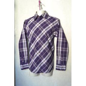 Camisa Southpole Talla Mediana Hombre Original Morada