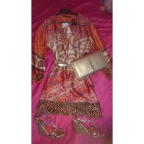 Hermoso Vestido Kaftan Estilo Hindu L!!!
