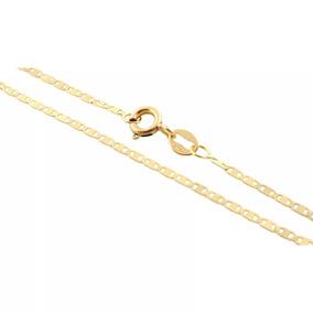 Corrente Piastrine 45cm Ouro 18k 1.40 Gramas Cordão Italiano