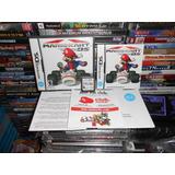 Mario Kart Ds Doy Caja,manual,folletos Y Cartuchito,funciona