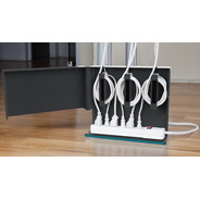 Pack 3 Plug Hub Organizador De Cables Quirky