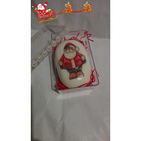 Jabones Decorados-adornados En Caja Acrilico Para Navidad