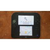 Nintendo 2ds Con Juegos En Memoria De 8gb
