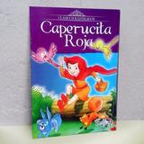 Cuento Libro De Caperucita Roja + Marcadores Para Niños