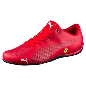 Tenis Puma Ferrari Drift Cat 5 Ultra Rojo Total 2018