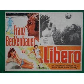 Franz Beckenbauer Libero Futbol Football Cartel De Cine 6