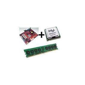 Kit Placa Mãe + Process Intel Dual Core + 4gb Ddr3 + Cooler/