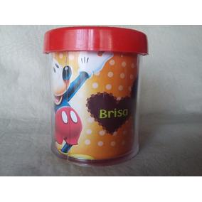 Taza Plástico Mickey Minnie Donald Pluto Goofy Baby Minnie