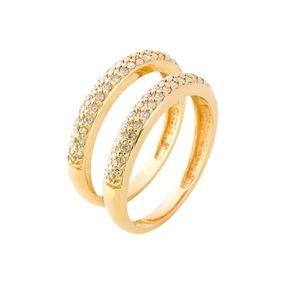 Aparador Em Ouro Amarelo 18k E Diamantes(0,60cts). Código: