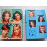 Sex In The City 3ª E 4ª Temporada Kit 2 Boxes Original 6 Dvd