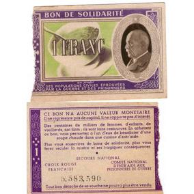 Francia Bono De Solidaridad Francia Vichy 2 Guerra Mundial