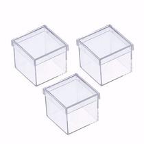 Caixinha Em Acrílico 5x5 (50 Unidades ) Caixa Lembrancinhas