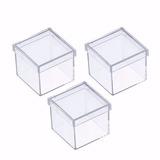 Caixinha Em Acrílico 5x5 (230 Unidades )caixa Lembrancinhas