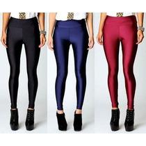 Calzas De Lycra Tiro Alto Almacen Fashion 4 Talles Pack X 6