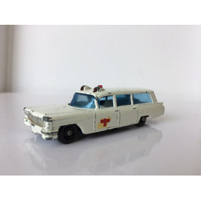Cadillac Ambulante Matchbox Series By Lesney 60