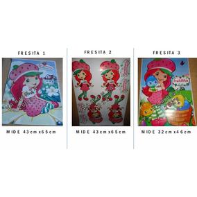 Fresita- Afiche Para Piñata- Cotillon