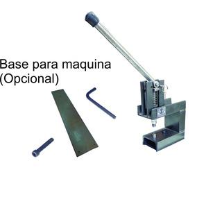 Maquina Jc05 Manual Ojilladora, Perforadora Y Troqueladora