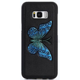 Case Samsung Galaxy S8 Plus Mariposa Azul