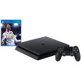 Playstation Sony Ps4 Slim 1 T B + Fifa 18 (físico)