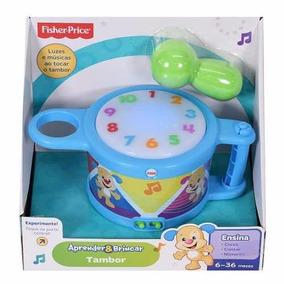 Fischer Price Tambor Aprender E Brincar Mattel