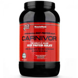 Carnivor Musclemeds Importado 1kg - Beef Protein Isolate