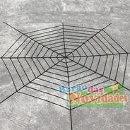 Rede Teia De Aranha Decoração Halloween Nylon