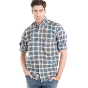 Camisa Orville Gris Tannery Hombre