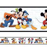 Adesivo Decorativo Faixa Mickey E Sua Turma 2