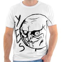 Camiseta Camisa Meme Sim Cara De Mau Frete Grátis