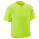 6 Playeras De Alta Visibilidad Color Verde Limon