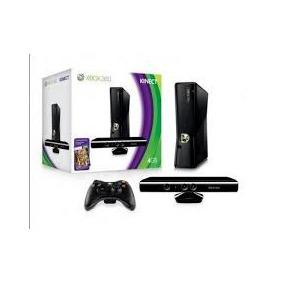 Microsoft Xbox 360 Super Slim Kit Kinect 4gb Desbloqueado