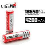 2x - Pilas Litio Li-ion 18650 - 5800 Mah -pack De 2 Pilas