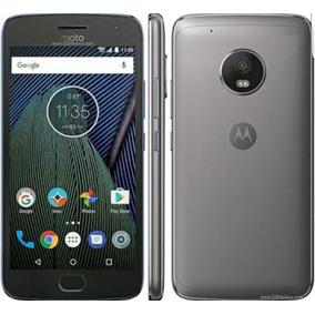 Celular Motorola Moto G5 Plus Negro Y Dorado Con Turbo Carga