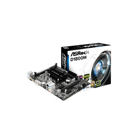 Mother Board Asrock Uatx Intel 2core Celeron 2xddr3