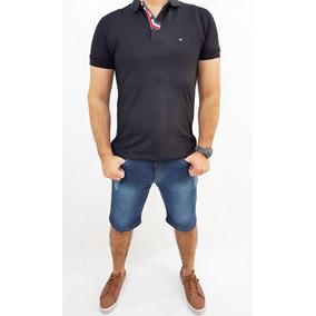 Bermuda Masculina Sarja Jeans Empório Ricci