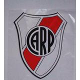 Set X 3 Escudos Stickers Vinilo 10cm River Plate