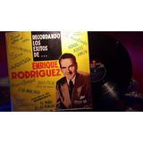 Enrique Rodriguez Recordando Los Exitos De... Lp Vinilo Ex