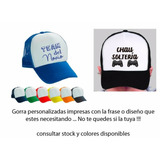 Gorras Personalizadas Sublimadas Calidad Premium Souvenir