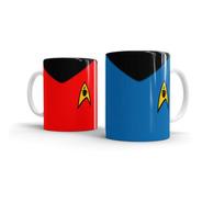 Caneca Personalizada Star Coffee Azul Star Trek - Beek