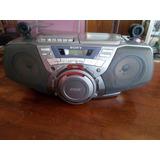 Equipo Sony De Sonido Con Cd, Casettera, Radio