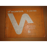 Honda Biz C100 Manual De Despiece Original Impecable