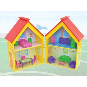 Brinquedos Infantis - Yellow House C/acessórios Ref. 412